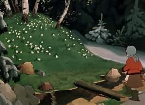 А их видимо-невидимо! Под кустами и под камнями, на кочках и под кочками — куда ни поглядишь.