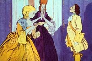 Приглашения были разосланы во все концы королевства. Их, конечно, получили и сестры Золушки.