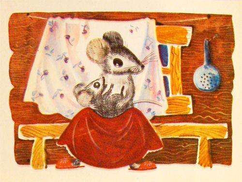 Сказка о глупом мышонке 1
