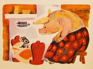 Сказка о глупом мышонке 5
