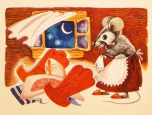 Сказка о глупом мышонке 9