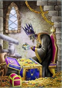 Там царь Кащей над златом чахнет