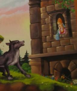 В темнице там царевна тужит, а бурый волк ей верно служит