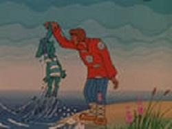 Вот из моря вылез старый Бес, Зачем ты, Балда, к нам залез