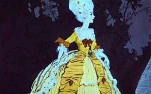 Взмах волшебной палочки… И лохмотья девушки стали прекрасным платьем, расшитым золотом и серебром