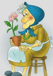 бабушка моя