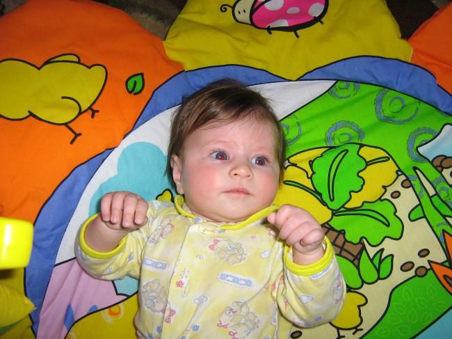 Ребенок в 3 месяцев фото