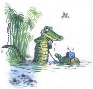 А потом позвонил крокодил