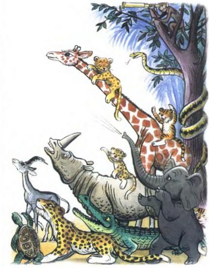 Авторская сказка о животных читать