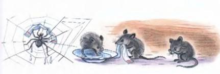 Мойдодыр умываются мышата