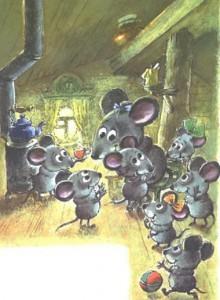 Сказка об умном мышонке 13