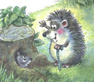 Сказка об умном мышонке 8