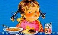 Про девочку, которая плохо кушала