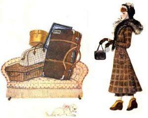 Дама сдавала в багаж. Диван, чемодан, саквояж...