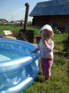 Елизавета, 2 года. 2