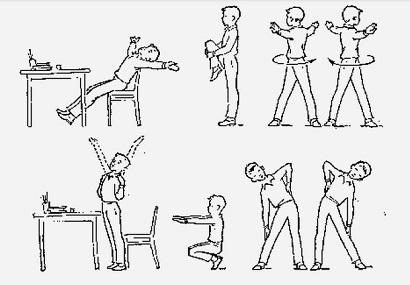 физкультминутки на уроках