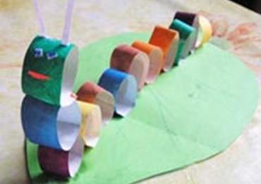 Объемные аппликации из цветной бумаги