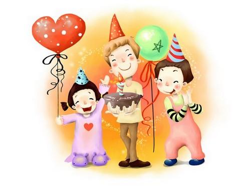 день рождения у ребенка