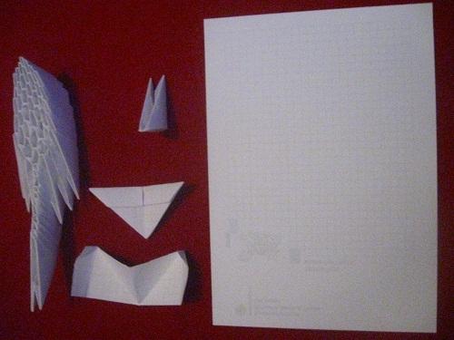 Поделка оригами в подарок маме