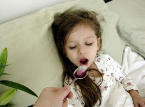 понос у ребенка с температурой