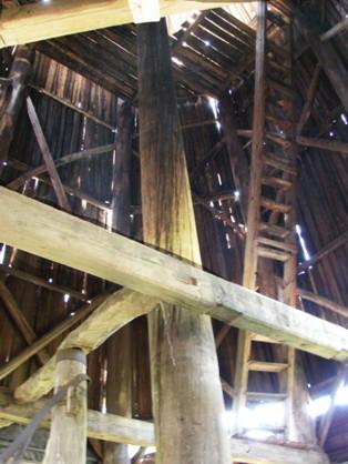 ветяная мельница изнутри