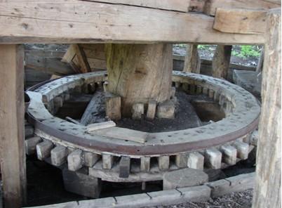 колесо ветряной мельницы