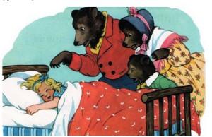 загадки по сказкам. Три медведя