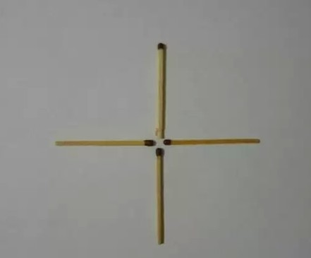 загадки со спичками крест
