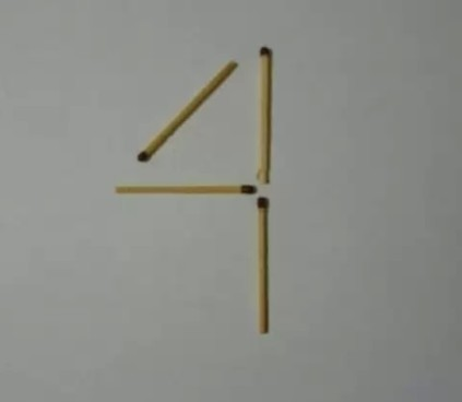 загадки со спичками квадрат
