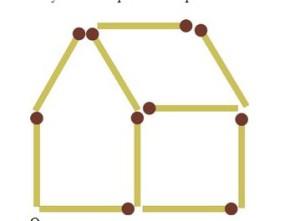 загадки со спичками домик