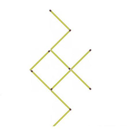 загадки со спичками  жук направо