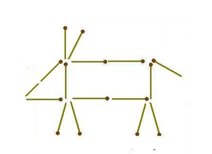 загадки со спичками 5