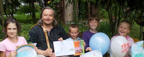фото ТТ и дети