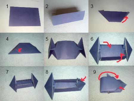 Как сделать из бумаги гоночную машинку