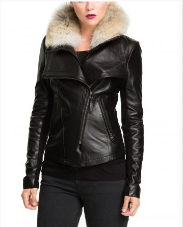 Женская Кожаная Куртка Купить