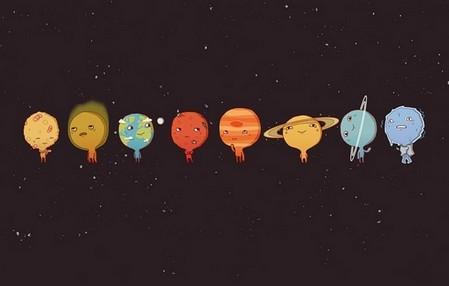 все планеты солнечной системы для детей