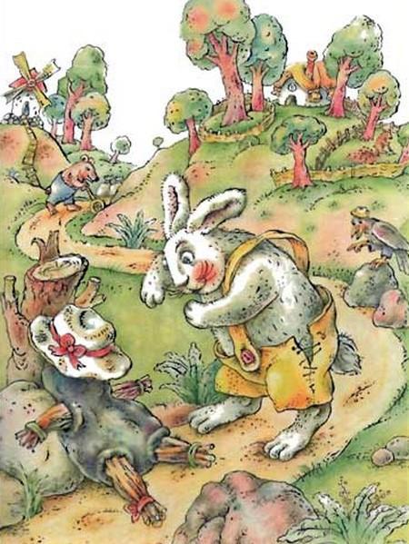 Братец Лис и Братец Кролик. Смоляное чучелко