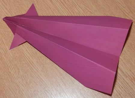 Как сделать из бумаги самолет конрад
