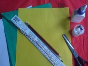 Как из бумаги делается цветок. фото1