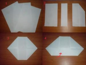 делаем телефон из бумаги