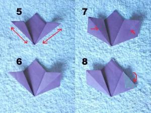 Как сделать из бумаги цветок