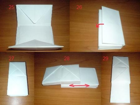 инструкция как сделать телефон из бумаги