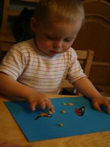 как ребенку лепить из пластилина