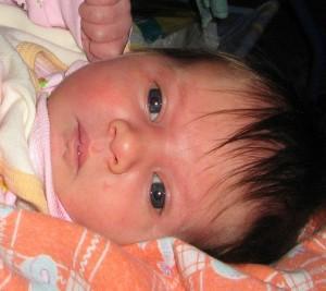 цвет глаз у новорожденного