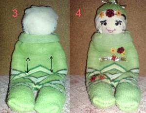 как сделать игрушки из носков