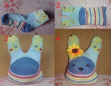 делаем игрушки из носков