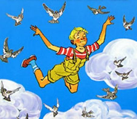 летающий мальчик