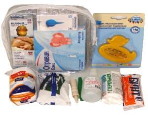 Состав аптечки для новорожденного
