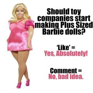 Толстая Барби