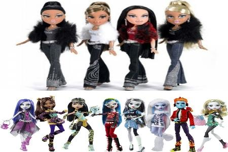 Bratz  и MonsterHigh